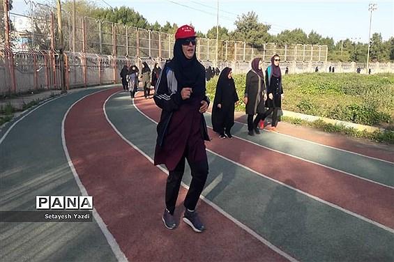 همایش پیادهروی ۲۰۰۰نفری بانوان فرهنگی ناحیه یک اهواز