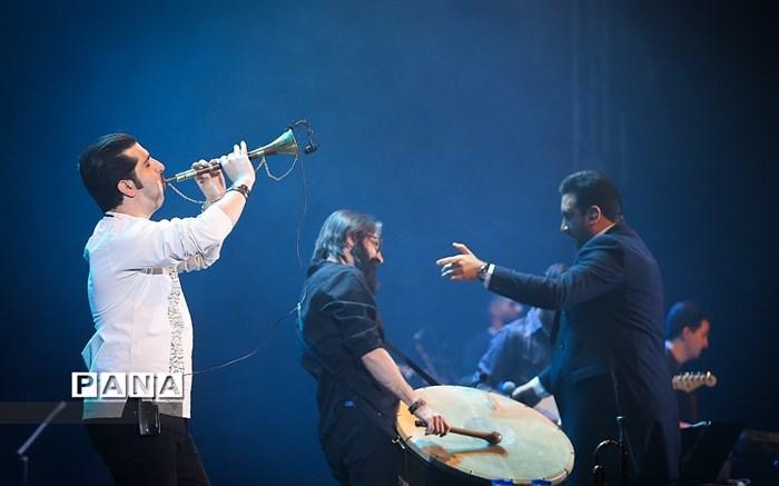 دومین شب سی و پنجمین جشنواره موسیقی فجر