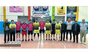 مسابقات ورزشی دهه فجر با مشخص شدن تیم های برتر پایان یافت