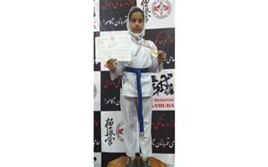 تداوم درخشش دانش آموزان دختر در مسابقات رشتههای رزمی شهرستان امیدیه
