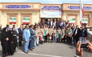 ساختمان جدید دبیرستان شهید دشتی روستای بویری بخش شبانکاره افتتاح شد