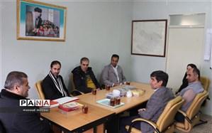 بانوی کارشناس سازمان دانش آموزی قزوین تجلیل شد