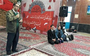 اعزام 256 دانش آموز پسرشهر قدس به اردوی راهیان نور