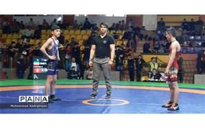 کسب عناوین قهرمانی منطقه 19 در رقابت های کشتی نوجوانان دانش آموز شهر تهران