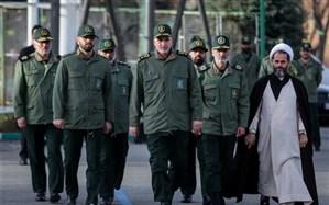 سردار علی فضلی به دانشگاه امام حسین بازگشت + عکس