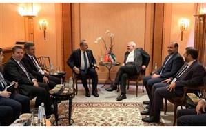رایزنی «ظریف» و «چاووشاوغلو» در مورد اقدامات آمریکا در عراق