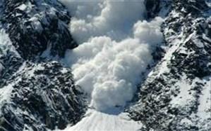 سقوط بهمن در ارتفاعات واریان کرج
