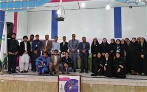 حضور رئیس سازمان دانش آموزی خراسان جنوبی دردهمین انتخابات مجلس دانش آموزی استان سیستان وبلوچستان