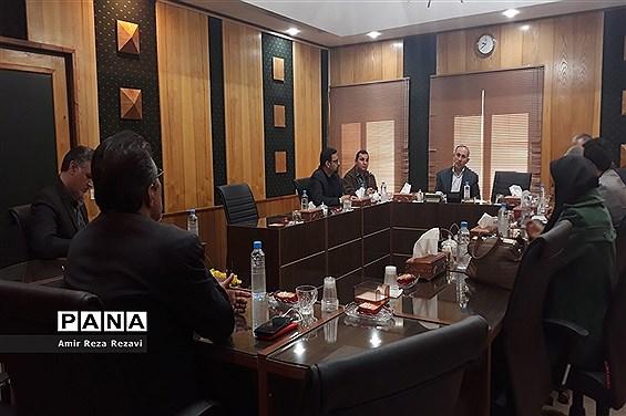 دیدار مدیران رسانهها با مدیرکل صدا و سیمای مرکز خوزستان