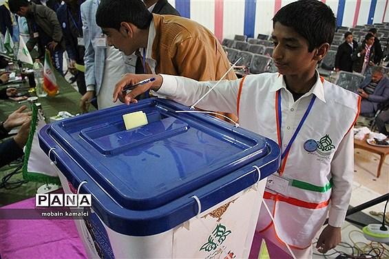 دهمین دوره انتخابات مجلس شورای دانش آموزی سیستان و بلوچستان
