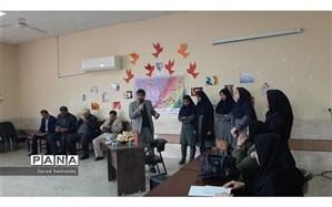 برگزاری مسابقه مشاعره دانش آموزی دخترانه متوسطه دوم حضرت آمنه