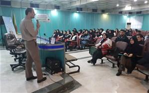 بیش از 140 نفر از اعضا و کارکنان  در کارگاه آموزشی پیشگیری از کرونا شرکت کردند