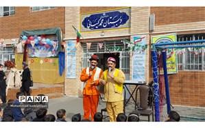 تئاتر طنز و شاد برای دانش آموزان در منطقه 19