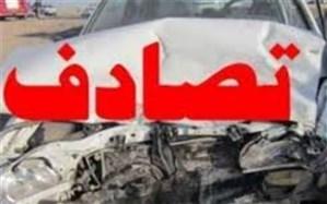 تصادف  دانش آموزان بافقی درمسیر یزد