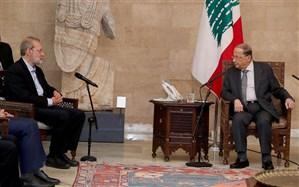 رییس جمهوری اسلامی ایران خواهان گسترش روابط با لبنان شد