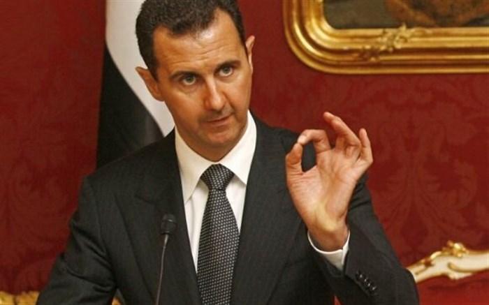 اسد: مبارزه برای آزادی کل خاک سوریه ادامه خواهد یافت