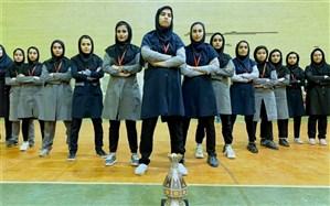 کسب مقام سوم استان توسط تیم هندبال دانش آموزان دختران متوسطه دوم شهرستان امیدیه