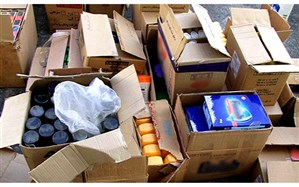 ۶۵۰ میلیون ریال کالای قاچاق از یک خودرو سواری کشف شد