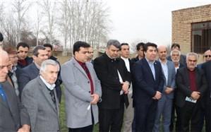 کلنگ  مدارس خیرساز شهرستان نظرآباد به زمین خورد
