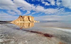 افزایش نیم متری تراز دریاچه ارومیه نسبت به سال گذشته