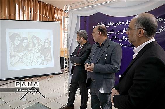 بازدید مدیرکل فرهنگی هنری اردوها و فضاهای پرورشی  از دبیرخانه پرسش مهر ۲۰ ریاست جمهوری