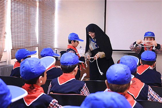 کارگاه آموزشی پیشتازان منطقه 1 در سالن کانون رضوان