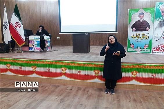 سمینار آموزشی پیشگیری از بیماری کرونا ویروس در شهرستان امیدیه