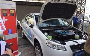 از اولین خودروی تمام برقی ایرانی رونمایی شد + تصاویر