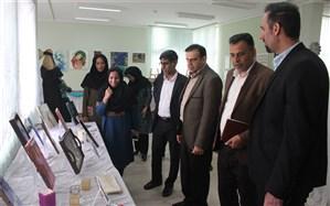 برگزاری نمایشگاه دست ساخته های هنرآموزان و هنرجویان فنی حرفه ای و کاردانش استان