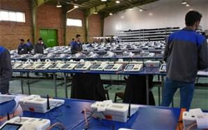 دستگاههای احراز هویت الکترونیکی انتخابات از البرز به سراسر کشور ارسال شد