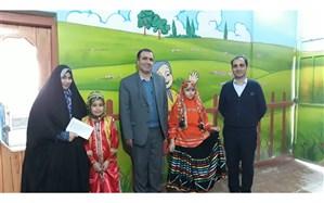 برگزاری نقالی وقصه گویی در کانون شهید رجایی منطقه 12