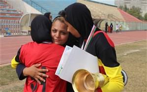 سی و یکمین دوره مسابقات قهرمانی دانش آموزان دختر مقطع متوسطه اول در رشته دو و میدانی برگزار شد