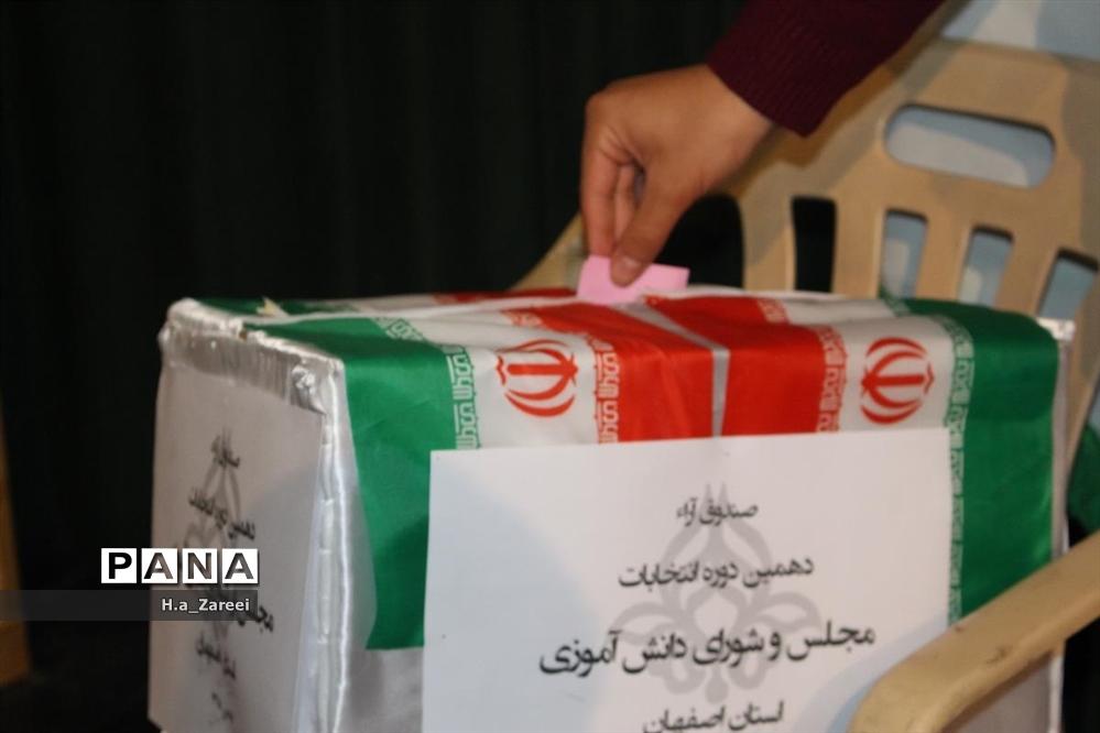 دهمین دوره انتخابات مجلس دانش آموزی استان اصفهان-پسران