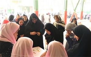 برگزاری بازارچه دانش آموزی دبیرستان نرگس منطقه یک