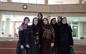 درخشش بانوان آموزش و پرورش استان زنجان در مسابقات کارکنان دولت