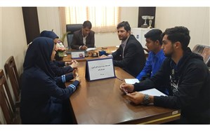 دومین جلسه اعضای هیات رییسه مجلس دانش آموزی قشم برگزار شد