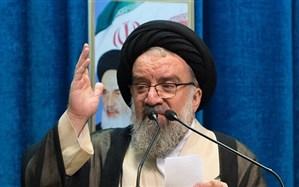 آیتالله خاتمی در نمازجمعه تهران: آمریکا و صهیونیستها روی آرامش را نخواهند دید