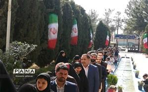حضورباشکوه مردم درانتخابات یازدهمین دوره مجلس شورای اسلامی درخراسان جنوبی