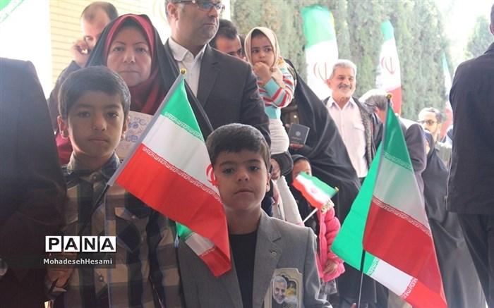 حضور با شکوه مردم شهرستان بیرجند در یازدهمین  انتخابات مجلس