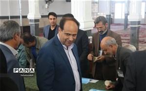 حضور مردم شهرستان ابرکوه در ساعت اولیه در شعبه های اخذ رای چشمگیر بود