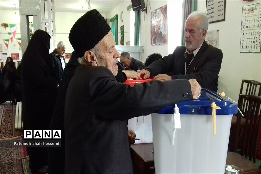 برگزاری  انتخابات یازدهمین دوره مجلس شورای اسلامی در فیروزکوه
