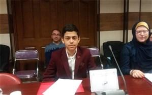 دانش آموز البرزی در مجلس شورای دانش آموزی منتخب کشوری شد