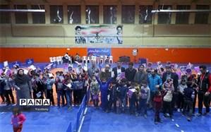 برگزاری جشنواره استعداد یابی تنیس روی میز ویژه پسران