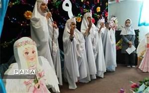 جشن عبادت دبستان پیام انقلاب در منطقه 7