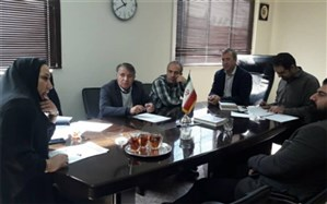 برگزاری جلسه هماهنگی ارزیابی شاخصهای معاونت پرورشی و تربیت بدنی آموزش و پرورش ناحیه دو شهرری