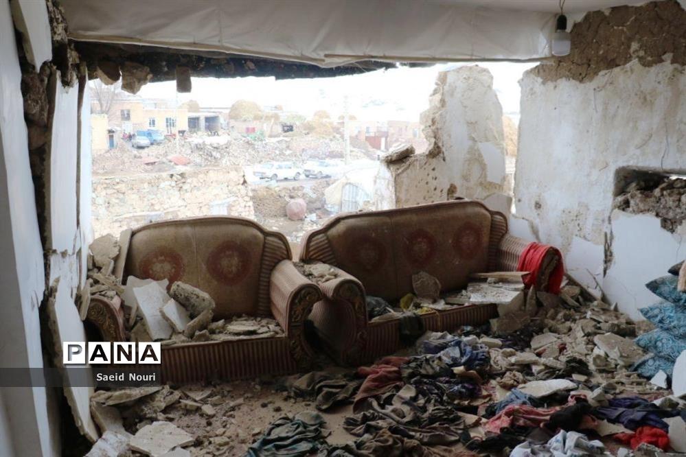 خسارت زلزله 5.7 ریشتری زلزله قطور خوی