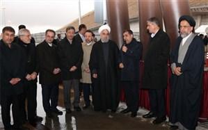 قطعه یک آزاد راه تهران- شمال افتتاح شد