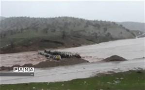 فرونشست پل محور قزوین-همدان؛ لاین شمالی مسدود شد