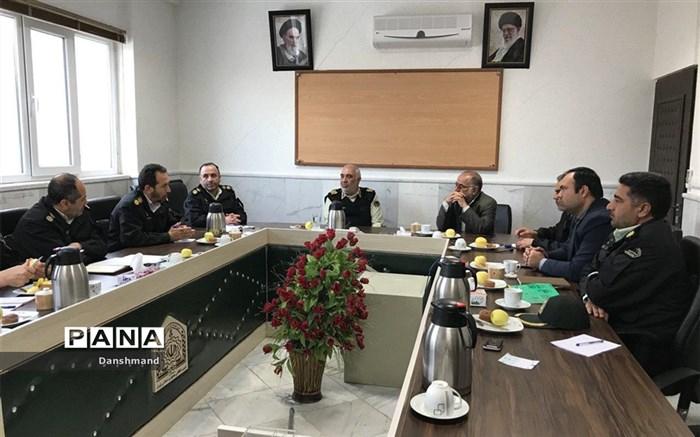 تدابیر امنیتی محور بجنورد به جنگل گلستان  در ایام نوروز