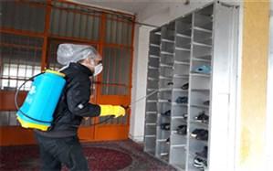 تلاش برای ضدعفونی کردن مدارس سراسر استان گیلان